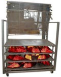 Component Handling Trolley For Box Oven Curing System